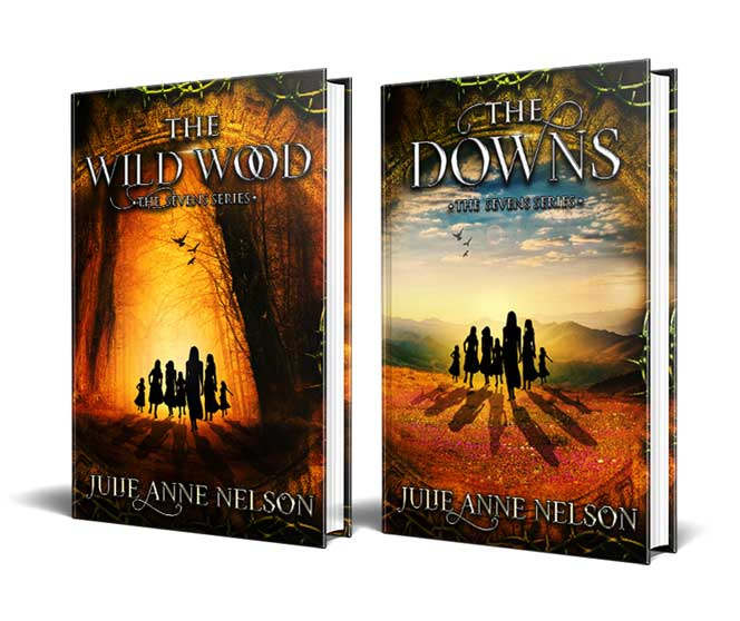 The Wild Wood & The Downs Book Jackets